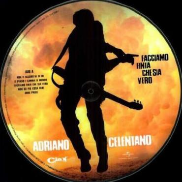 Adriano Celentano - FACCIAMO FINTA CHE SIA VERO (PICTURE DIS (Винил)