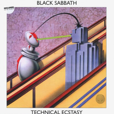 BLACK SABBATH - Technical Ecstasy (Винил+CD)
