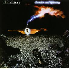 Thin Lizzy Thunder And Lightning (Винил)