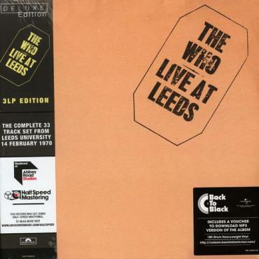 The Who Live At Leeds (Half Speed Vinyl) (3Винил)