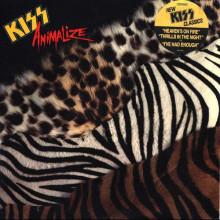Kiss - Animalize Винил