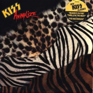 Kiss - Animalize Винил
