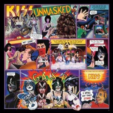 Kiss - Unmasked Винил