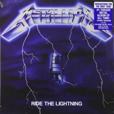METALLICA - Ride The Lightning (Винил)