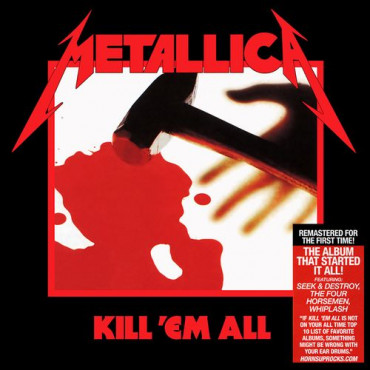 METALLICA - KILL 'EM ALL (Винил)