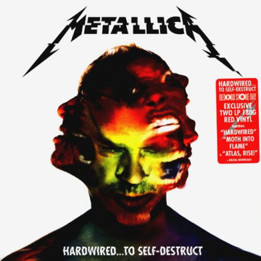 METALLICA - Hardwired...To Self-Destruct (coloured) (2Винил)