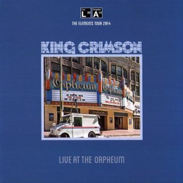 KING CRIMSON LIVE AT THE ORPHEUM (200 GR) (Винил)