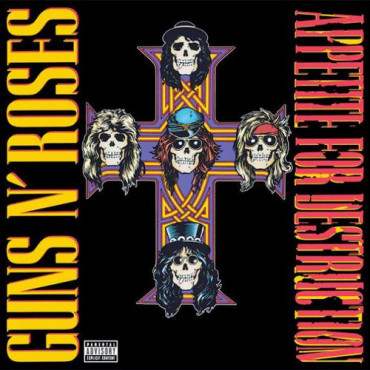 GUNS N' ROSES APPETITE FOR DESTRUCTION (Винил)