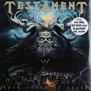TESTAMENT - DARK ROOTS OF EARTH (2Винил)