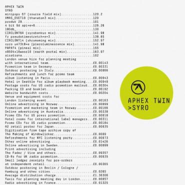 APHEX TWIN SYRO LP-BOXSET (3Винил)