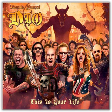 DIO / TRIBUTE RONNIE JAMES DIO - THIS IS YOUR LIFE (2Винил)