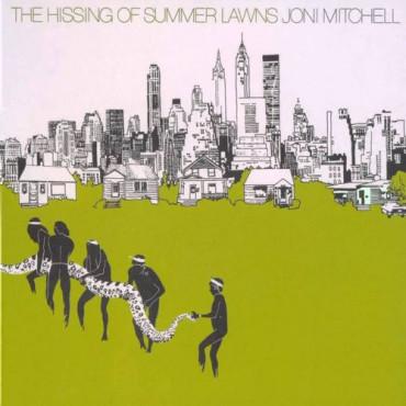 JONI MITCHEL THE HISSING OF SUMMER LAWNS (Винил)