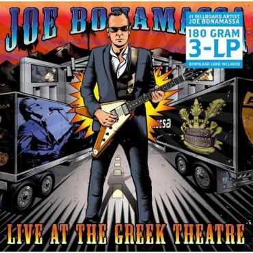 JOE BONAMASSA LIVE AT THE GREEK THEATRE (3Винил)