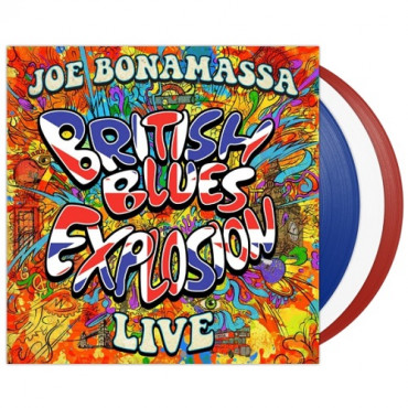 JOE BONAMASSA - British Blue Explosion-Live At Greenwich (Coloured) (3Винил)