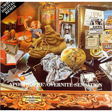 Frank Zappa Over-Nite Sensation (Винил)