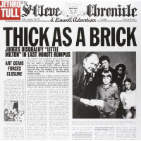 JETHRO TULL THICK AS A BRICK (Винил)