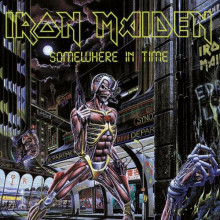 IRON MAIDEN - SOMEWHERE IN TIME (Винил)