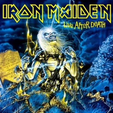 IRON MAIDEN - LIVE AFTER DEATH (2Винил)