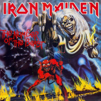 IRON MAIDEN - THE NUMBER OF THE BEAST (Винил)