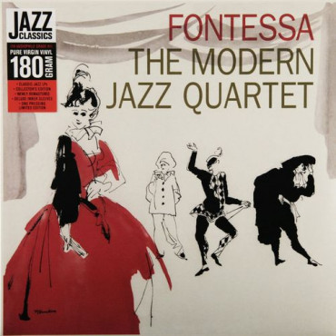 MODERN JAZZ QUARTET FONTESSA (Винил)