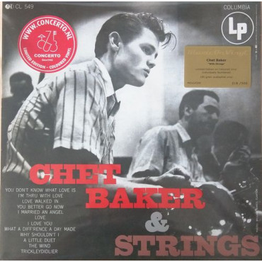 CHET BAKER WITH STRINGS (Винил)