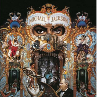 MICHAEL JACKSON DANGEROUS =REMASTERED= (2Винил)