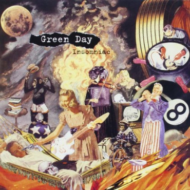 GREEN DAY Insomniac (Винил)